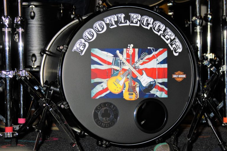 Bootlegger bring classic rock to the Ace Café London.